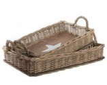 naturalWicker tray