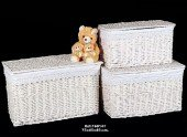 Rattan chest or laundry basket