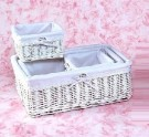 Wicker Baskets and Boxes