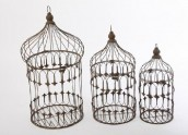 Country decorativa Birdcage