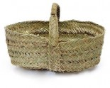Esparto Basket for Wood