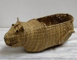 Wicker Tray, animals