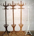 Country cloth holder with umbrella stand