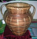 Wicker Amphora