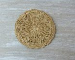 Wicker coaster